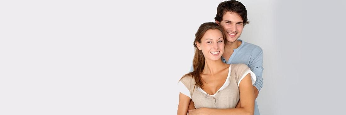 Young couple smiling | Dentist Glendale Ca
