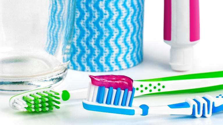 Toothbrush and toothpaste | Dentist Glendale CA